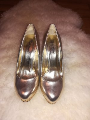 High Heels in Gold - Gr. 37
