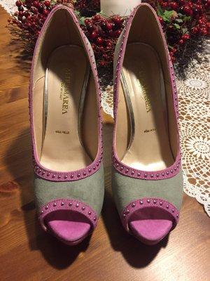Vera Pelle High Heels multicolored