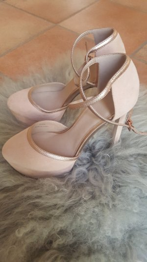 High Heels in Nude - wie neu