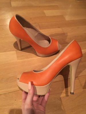 High Heels in orange