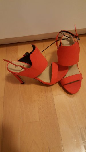 High Heels in orange/rot von Primark