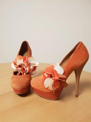 High Heels in Pfirsich