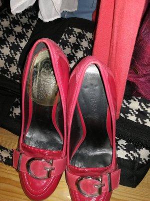 High Heels in pink von Guess