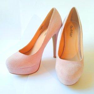 High Heels in Puderrosa