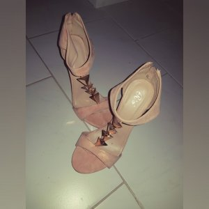 High Heels in Rosa/Gold