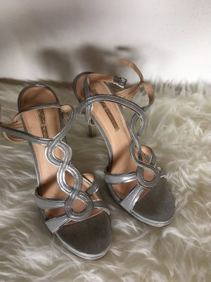High Heels in Silber