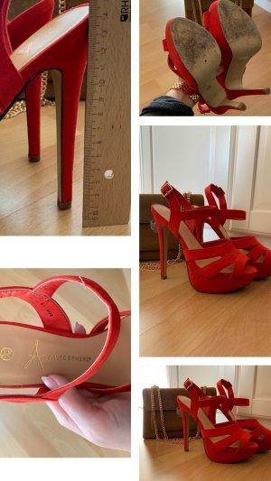 Atmosphere High Heel Sandal red