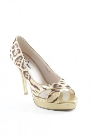 High Heels leopard pattern party style