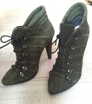 High Heels Military Look Vera Pelle