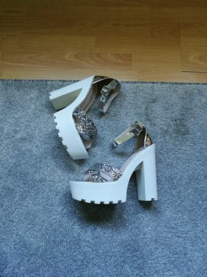 high heels mit blockabsatz
