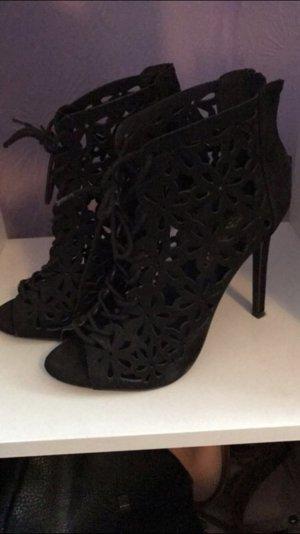 High heels mit Blumen Muster