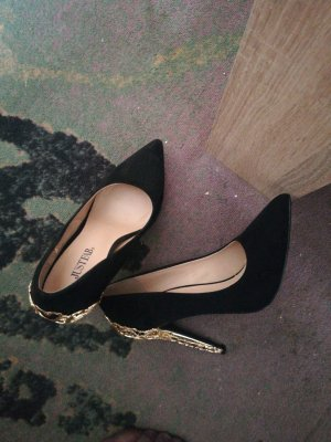 High Heels mit gold