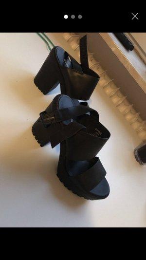 High heels mit Plateau 36