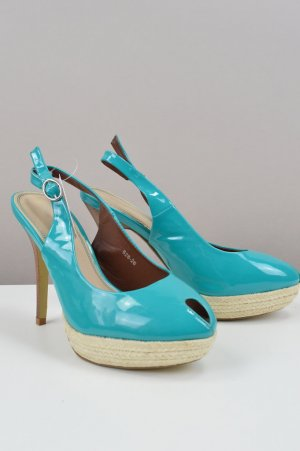High Heel Sandal baby blue-light blue