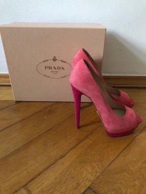 High Heels mit Plateau von Prada -Größe 39