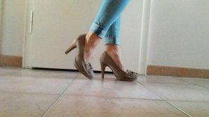 High Heels mit Schleife