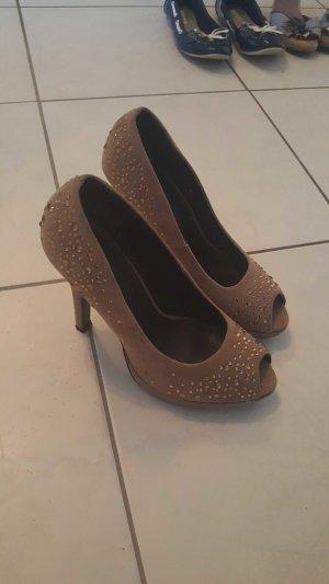high heels mit Steinchen