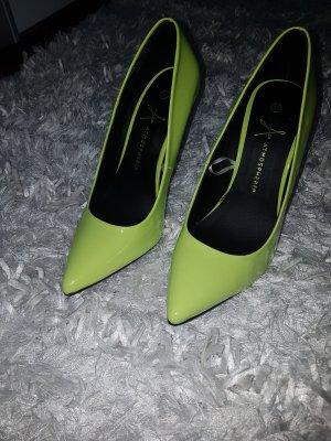 High heels neon