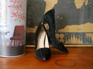 High Heels / Nieten / Pumps / DUNE / Wildleder