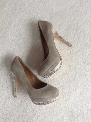 High Heels / nude / Gr. 39 / NEU / Jumex