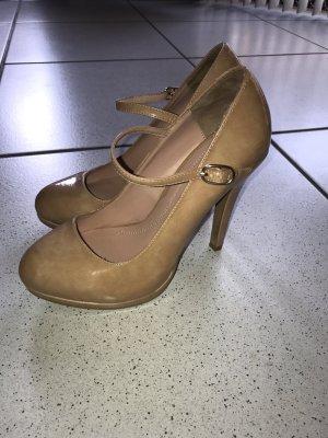 High Heels nude Lack 36 Zara