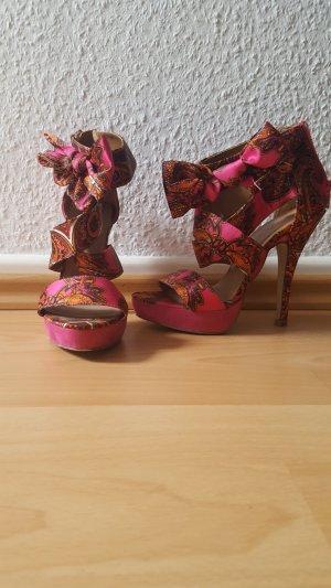 High heels Parsleymuster