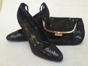 High Heels + passende Clutch von Karen Millen *NAGELNEU*