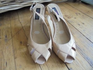 5th Avenue High Heels nude leather