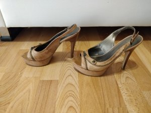 High Heels/ peeptoes beige von Guess