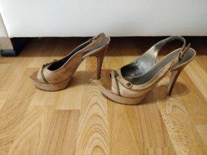 High Heels/ peeptoes beige von Guess