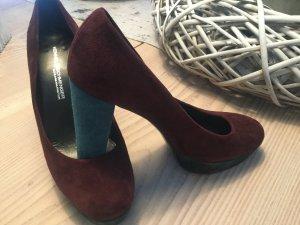 High Heels, Plateau, Pumps Gr. 40 von K&S sexy zu Kleid