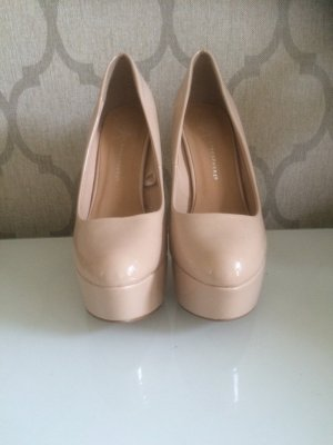 High Heels Plateau Pumps rosé rosa Primark Atmosphere Größe 40