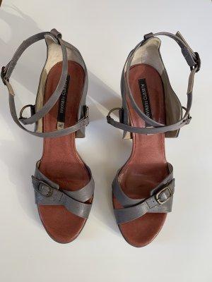 Alberto Fermani Platform Sandals grey