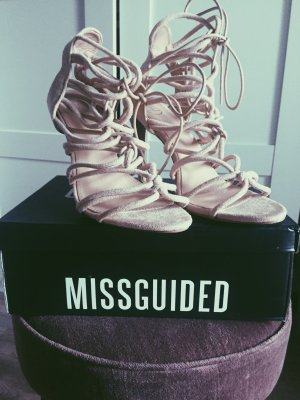 Missguided Lace-up Pumps multicolored