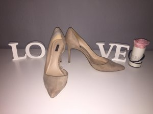 High Heels/ Pumps beige spitz Gr. 41