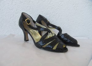 Made in Italy High-Heeled Sandals black