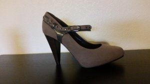 High Heels / Pumps / Taupe / Gr. 38 / wie Neu
