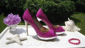 High Heels Purple Spiegelabsätze & Sohle Super Sexy Eyecatcher