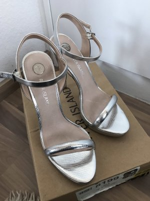High Heels River Island silber