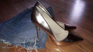 High-Heels rose-gold-metallisch Gr.38