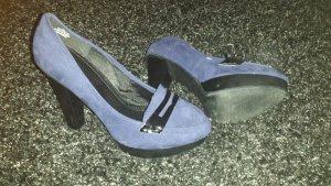 High Heels Royalblau