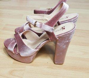 high heels samt  (velvet)