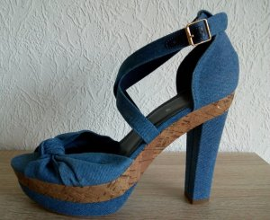 High Heels Sandalen Jeans H&M Gr. 40