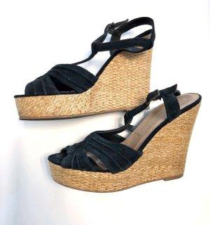Atmosphere Wedge Sandals black