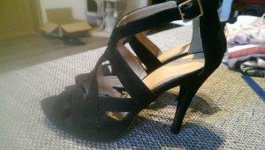 High Heels Sandalen, Riemchen