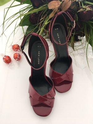 New Look High Heel Sandal dark red-bordeaux