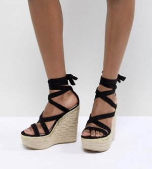 High heels Sandaletten Keilabsatz Gr. 35