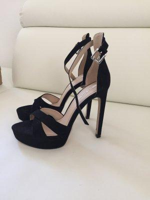 High Heels Sandaletten Pumps Zara schwarz