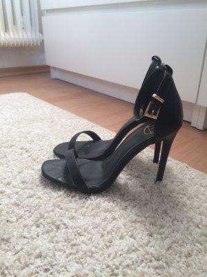 High heels Sandaletten schwarz