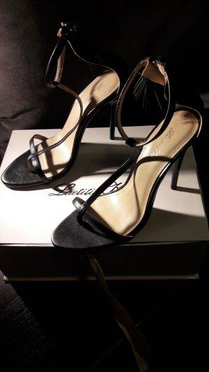 High Heels Sandaletten schwarz von Laetitia Klein
